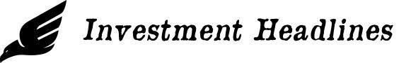 Investment News Headlines